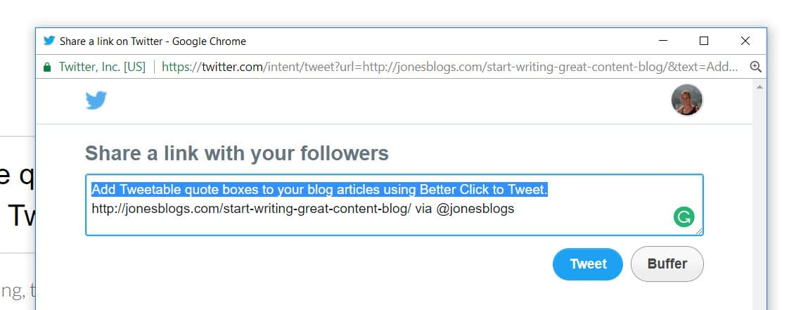 3 Free Ways to Add Click-to-Tweet Links to Your WordPress Blog