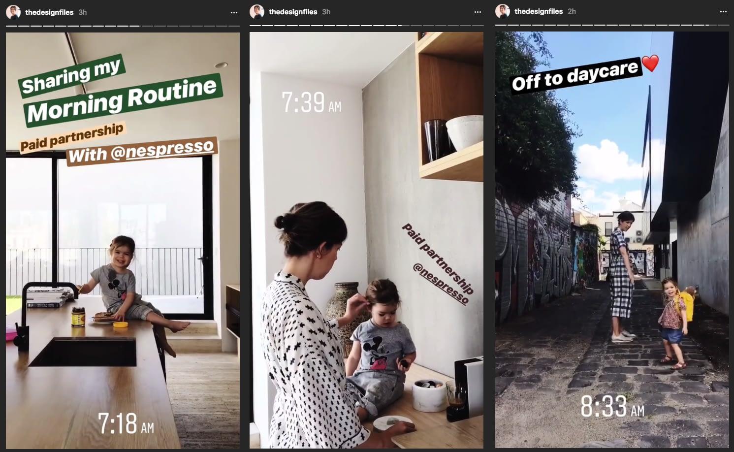 Instagram Marketing Strategy - The Design Files Instagram Stories
