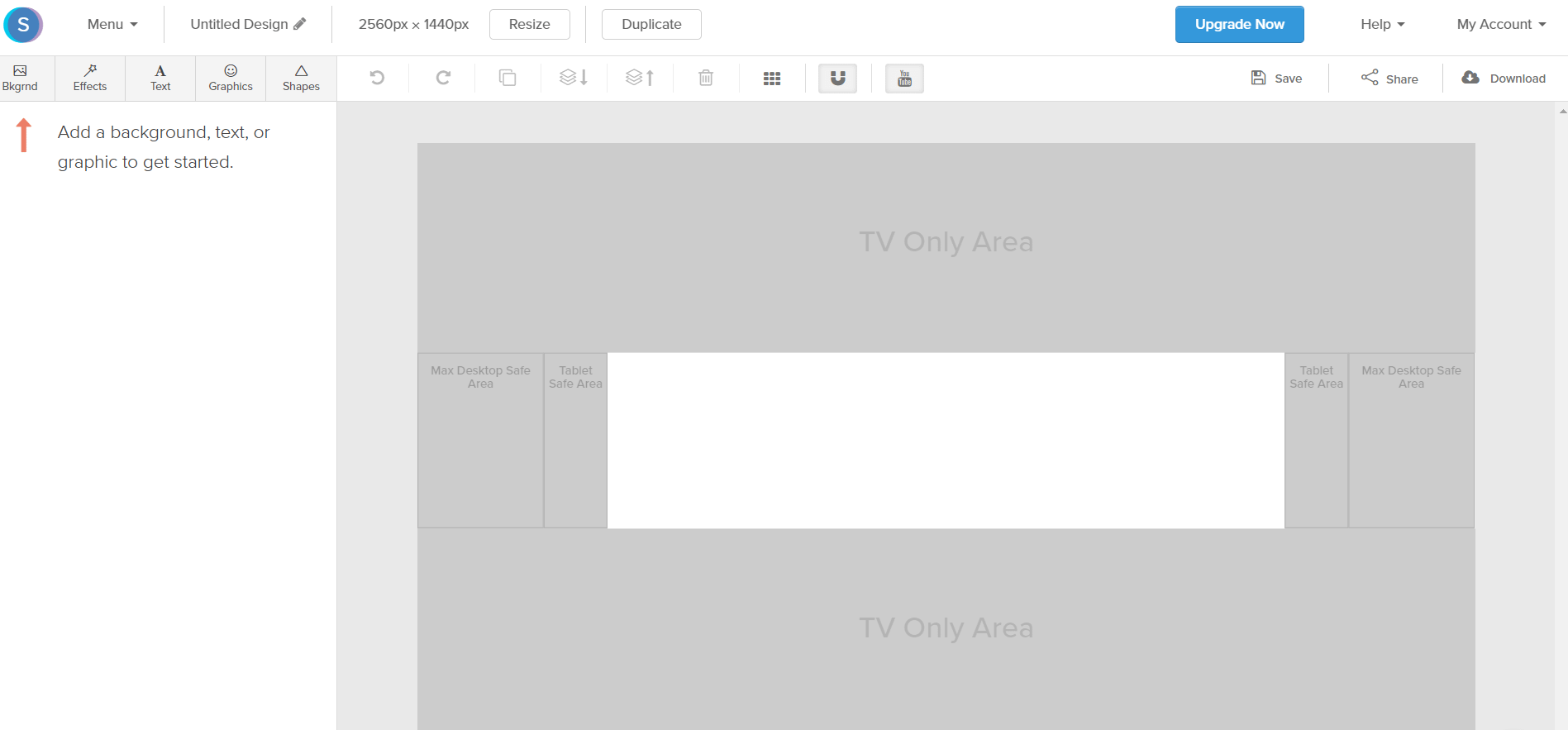 Snappa YouTube Banner Template