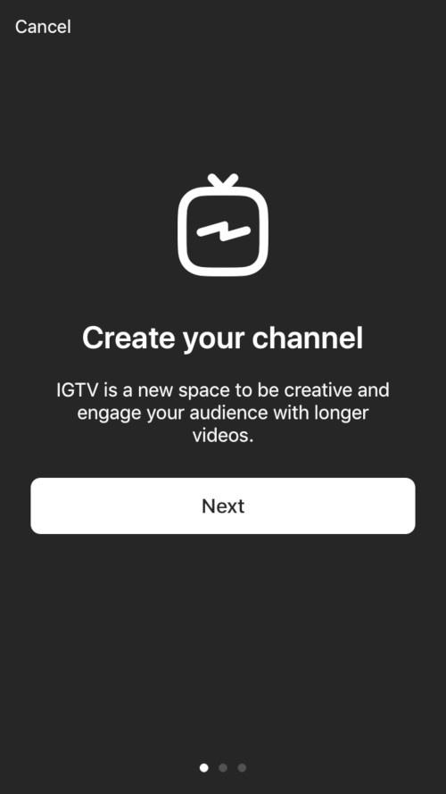 Instagram IGTV