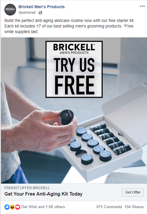 brickell - Facebook Ads guide