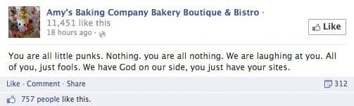 common social media mistakes to avoid amys baking company