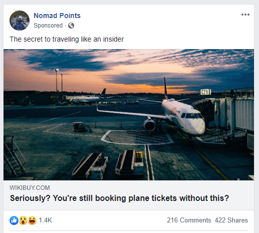 nomad points - Facebook Ads guide