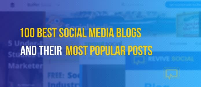 Best Social Media Blogs for Marketers