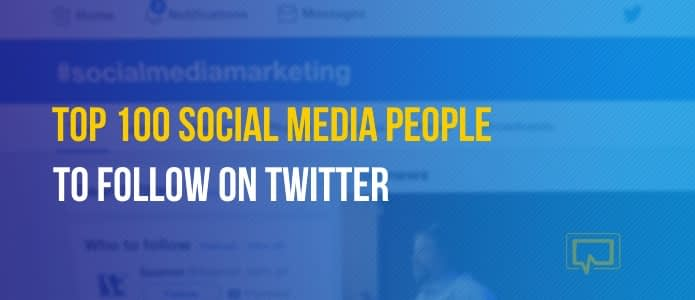 top 100 social media experts to follow on Twitter