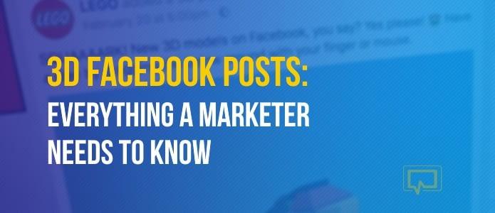 3D Facebook Posts