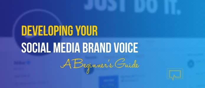 social media brand voice