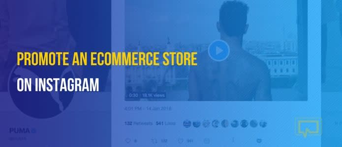 promote an eCommerce store on Instagram