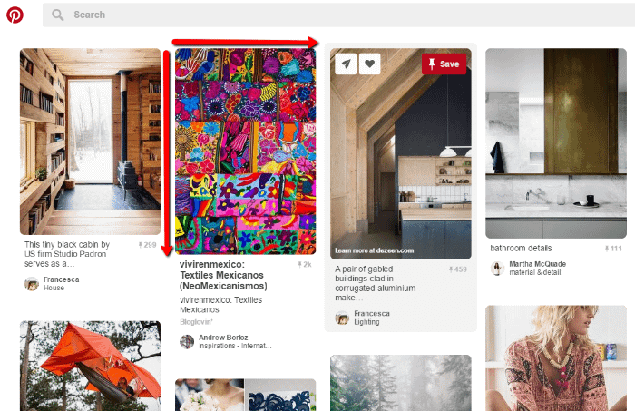 image dimensions for Pinterest images