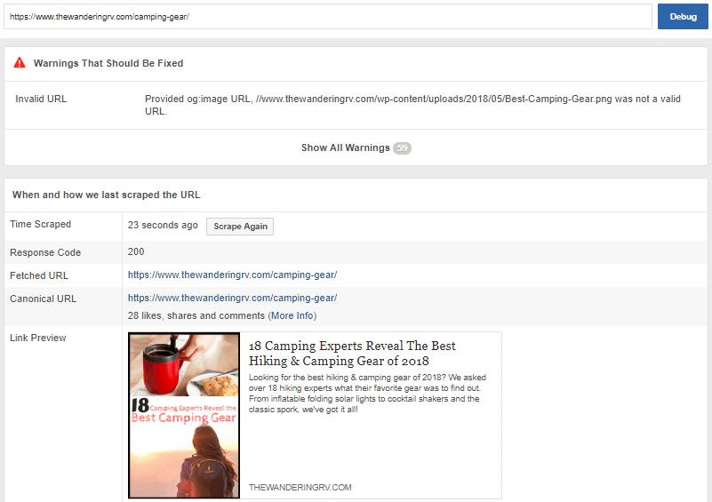 FB Debug tool example