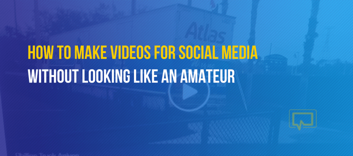 How to Make Videos for Social Media Without Looking Like an Amateur