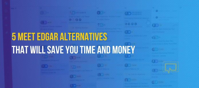 5 Meet Edgar Alternatives That Will Save You Time and Money